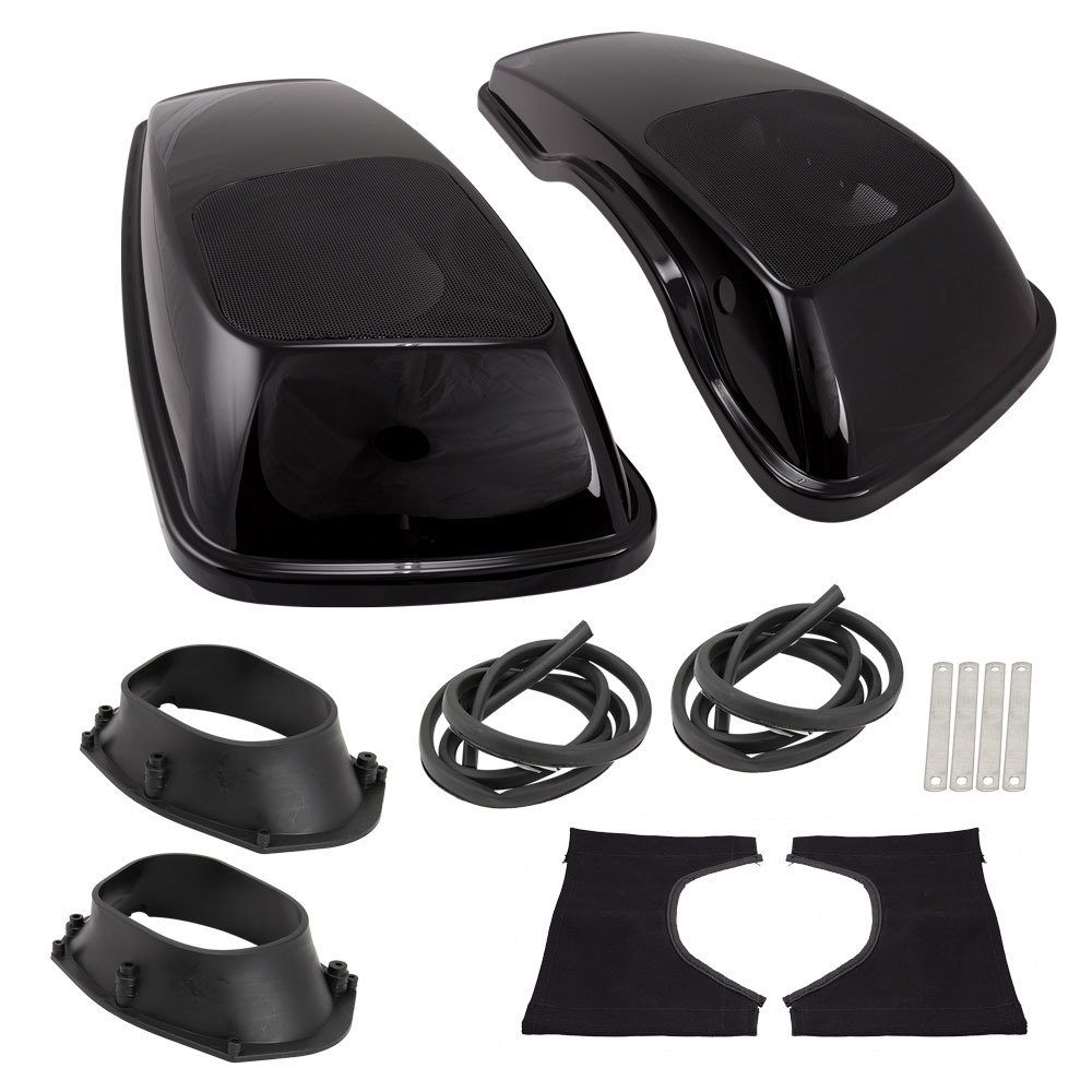 Rushmore CVO Saddlebag Lid with 6x9 Inch Speaker Adapters - Harley Davidson 2014-Up