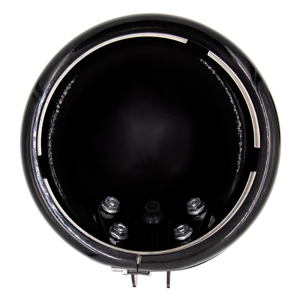 Gloss Black Headlight Housing Bucket Multi Fit - Harley Davidson 1984-2018