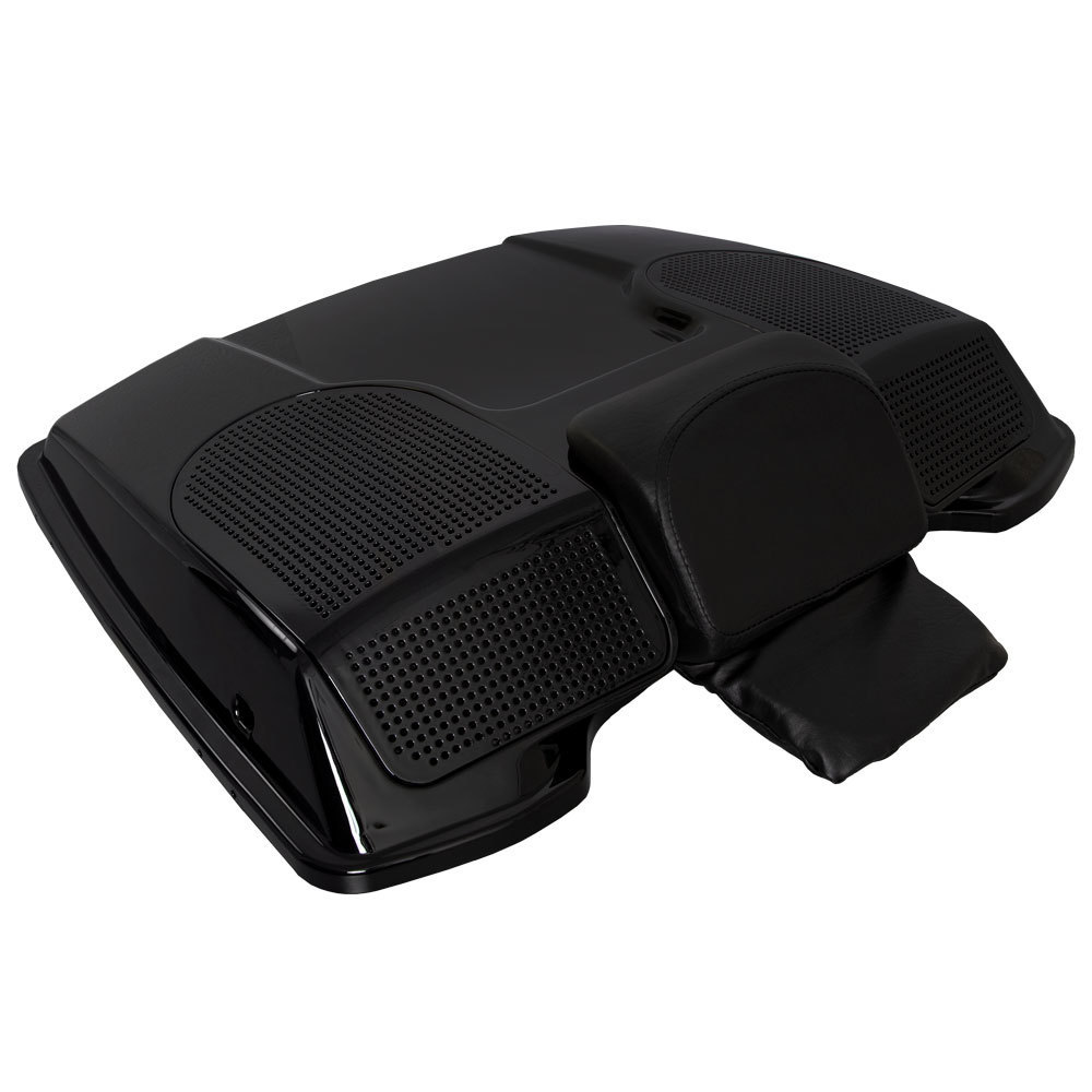 Tour-Pak Lid with Speaker Adapters - Harley-Davidson 1996-2013