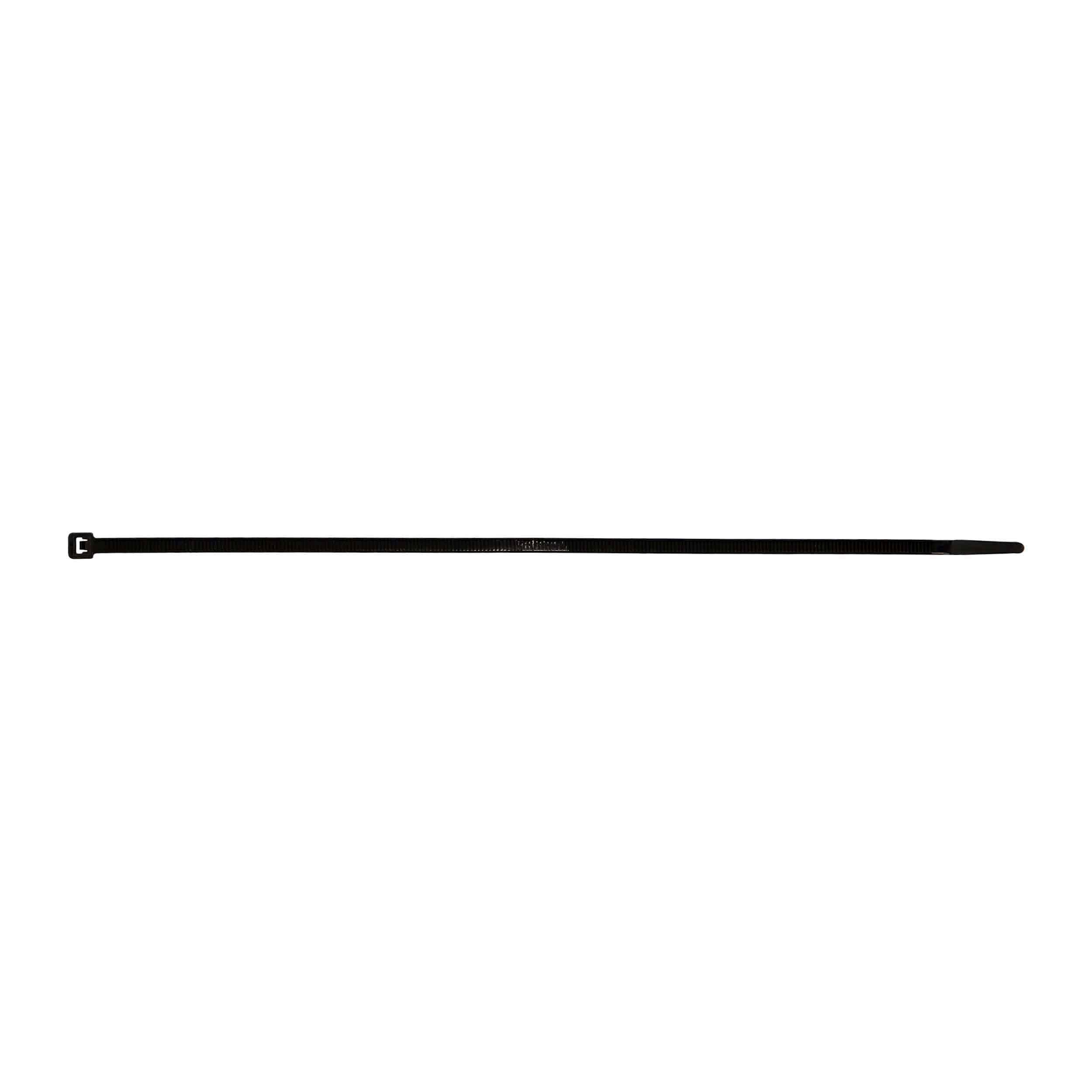 Black Cable Tie - 11 Inch, Package of 100