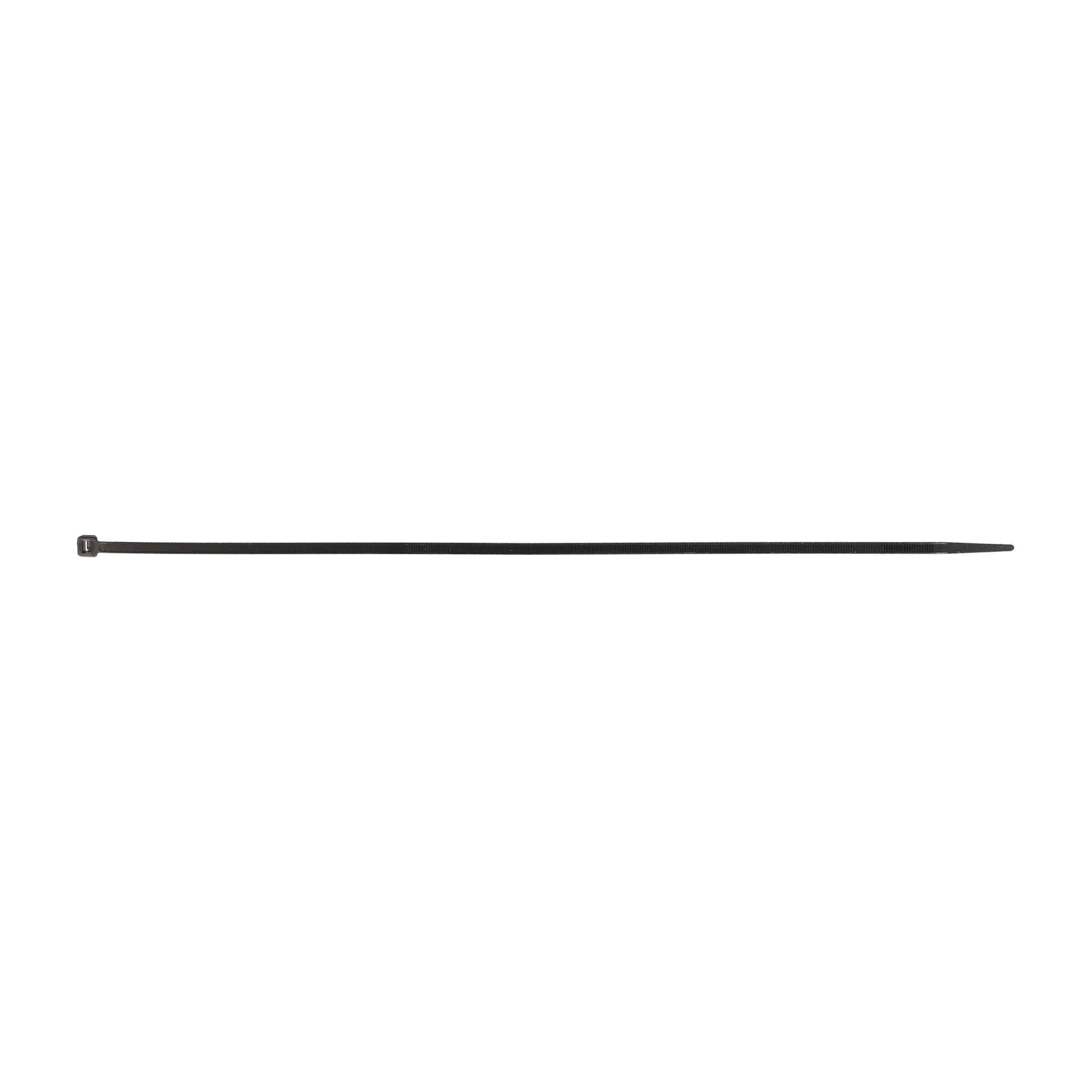 Black Cable Tie - 14 Inch, Package of 100