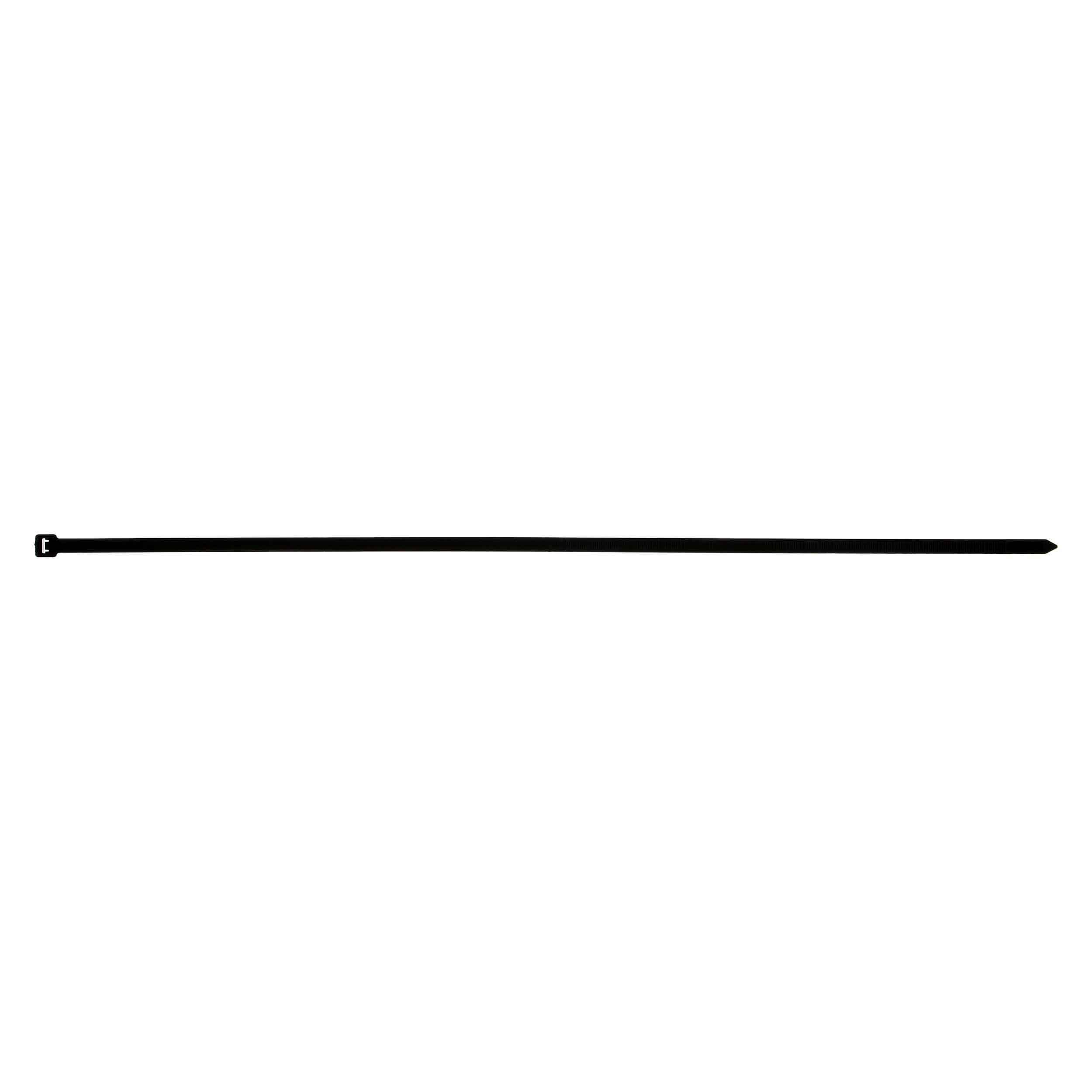 Black Cable Tie - 24 Inch, Package of 100