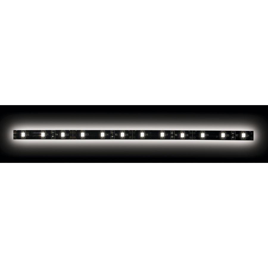 5050 White/Black Light Strip with Black Base - 3 Meter, 60 LED, Retail