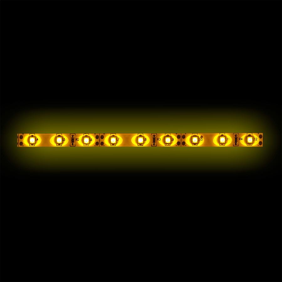 3528 Amber Light Strip - 1 Meter, 60 LED, Bulk