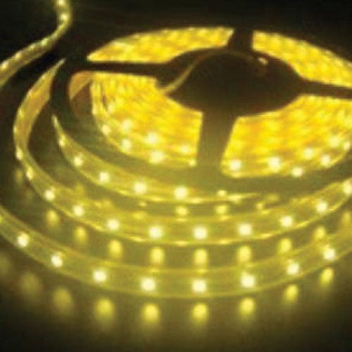 5050 Amber Light Strip - 5 Meter, 60 LED, Bulk
