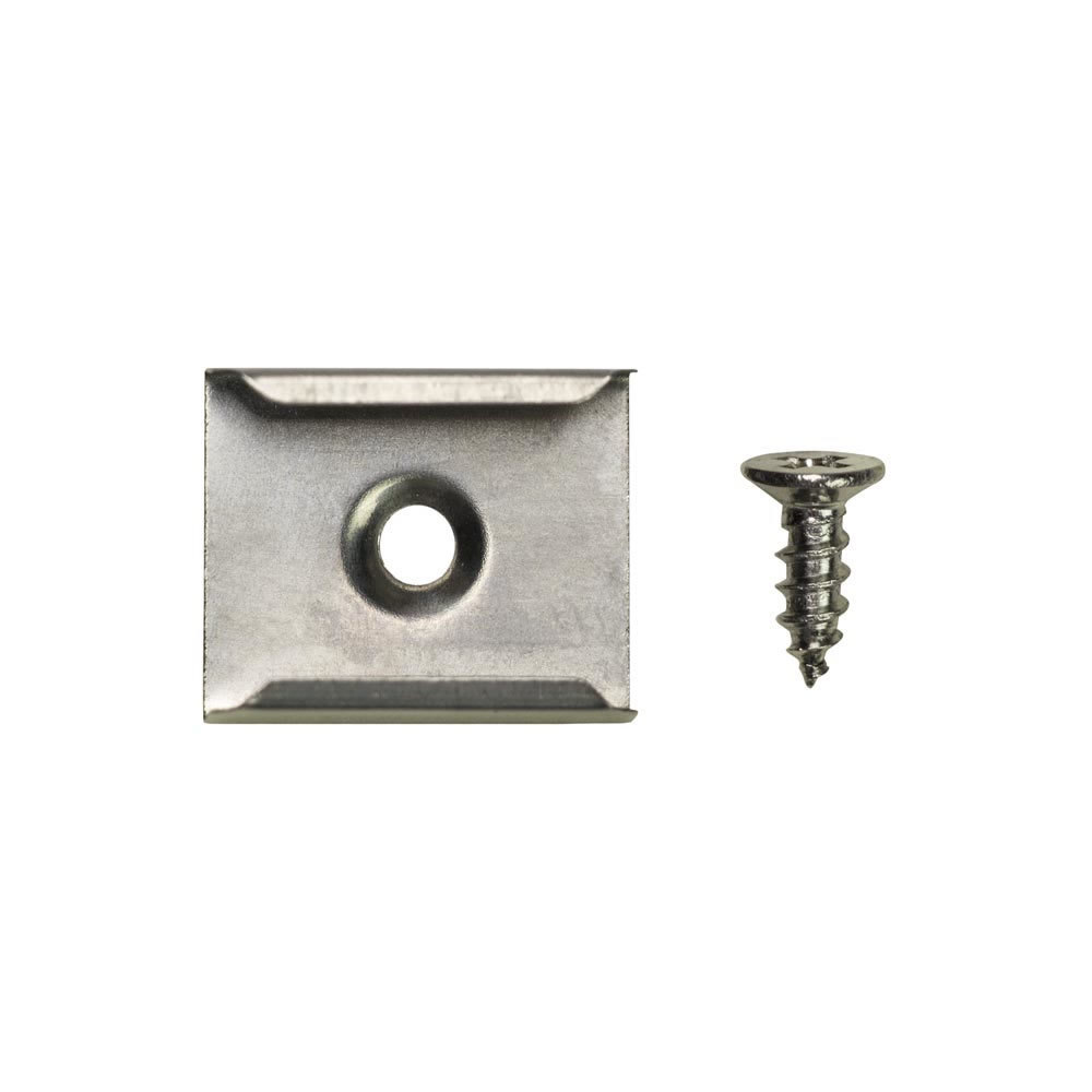 Clips for Surface Mount Tracks HE-ATFL/HE-ATCL - 10-Pack