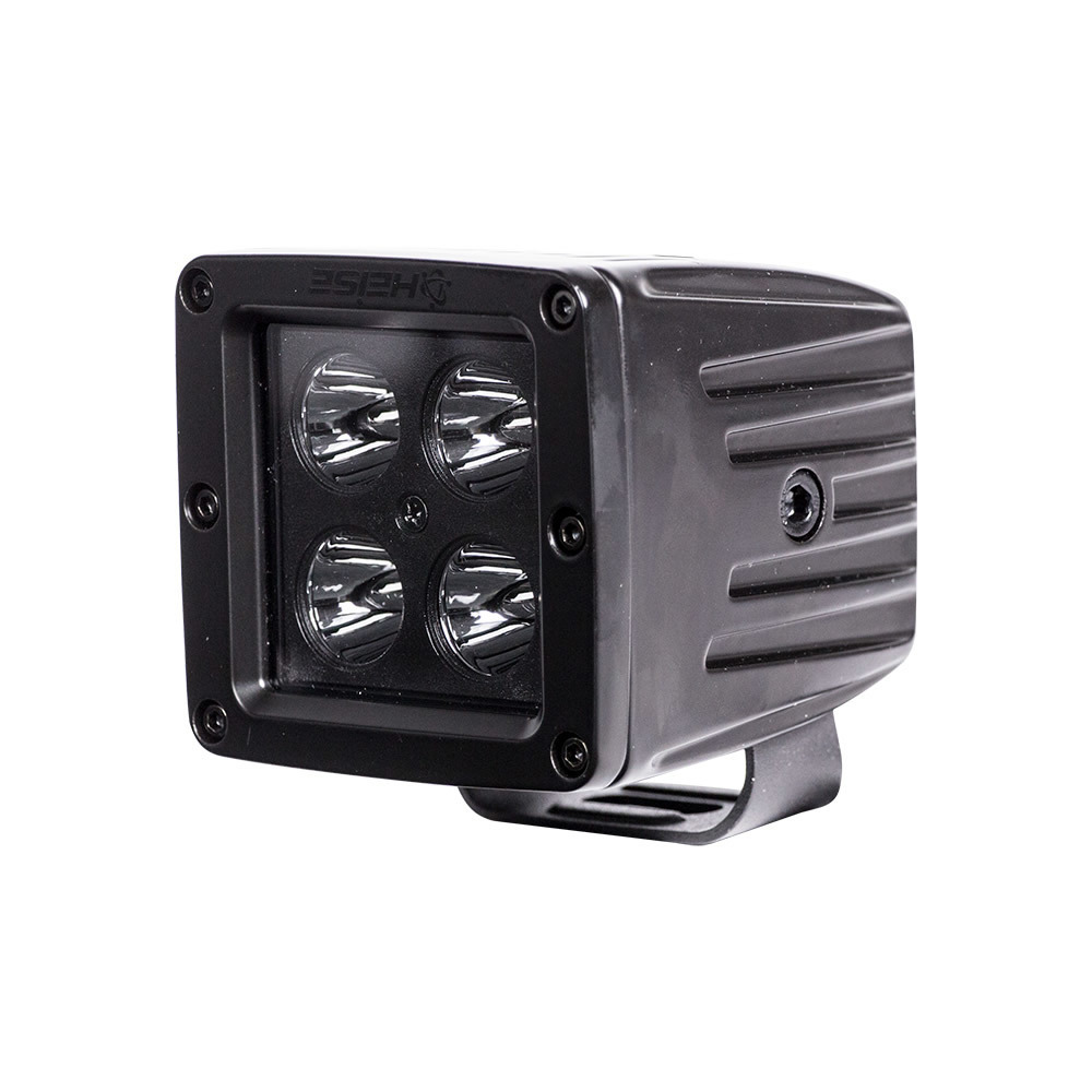Cube Blackout Spot Light - 3 Inch, 4 LED