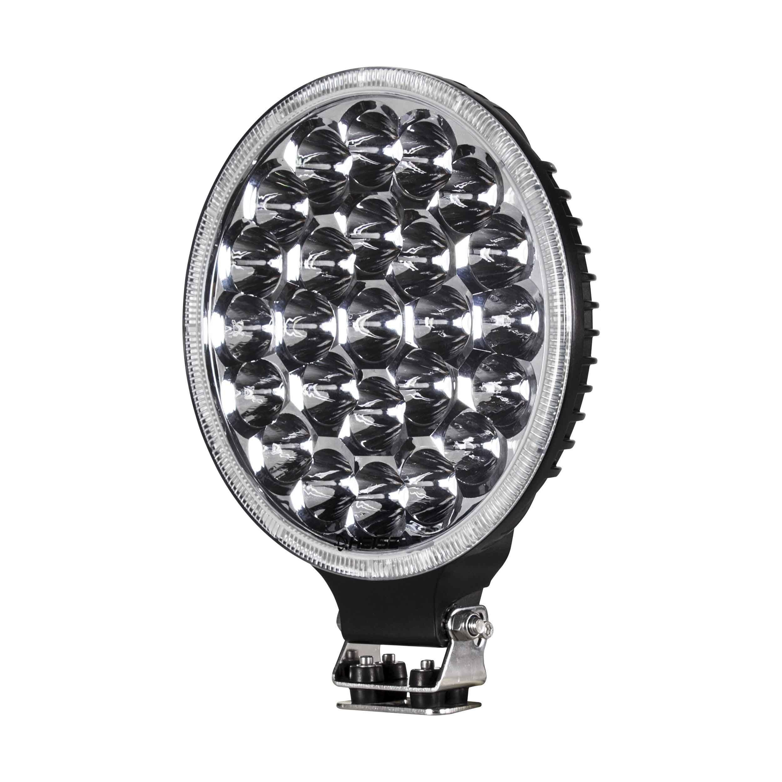 Round Driving Light - 9 Inch, 25 LED
