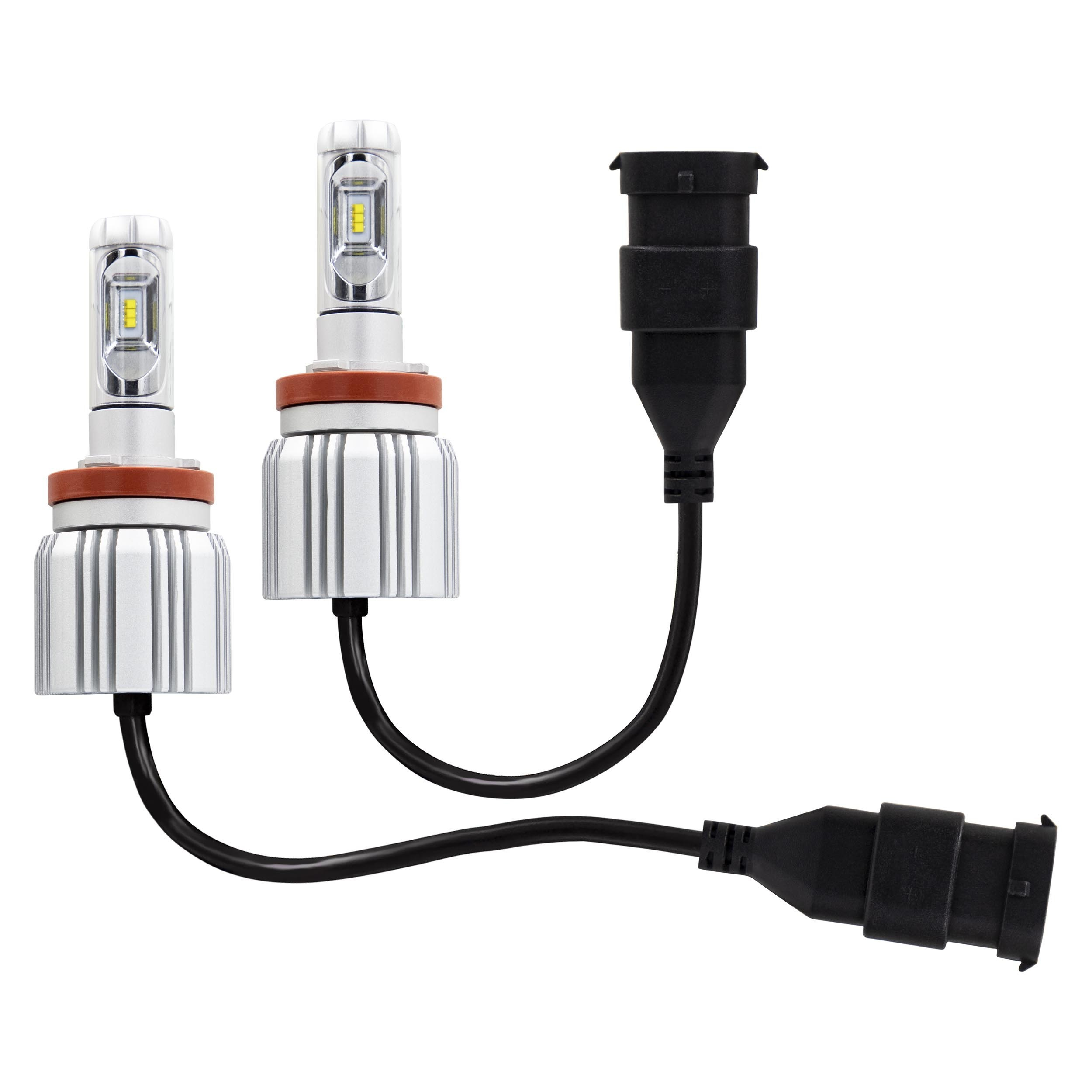 H8 Replacement LED Headlight Kit - Single Beam, Pair