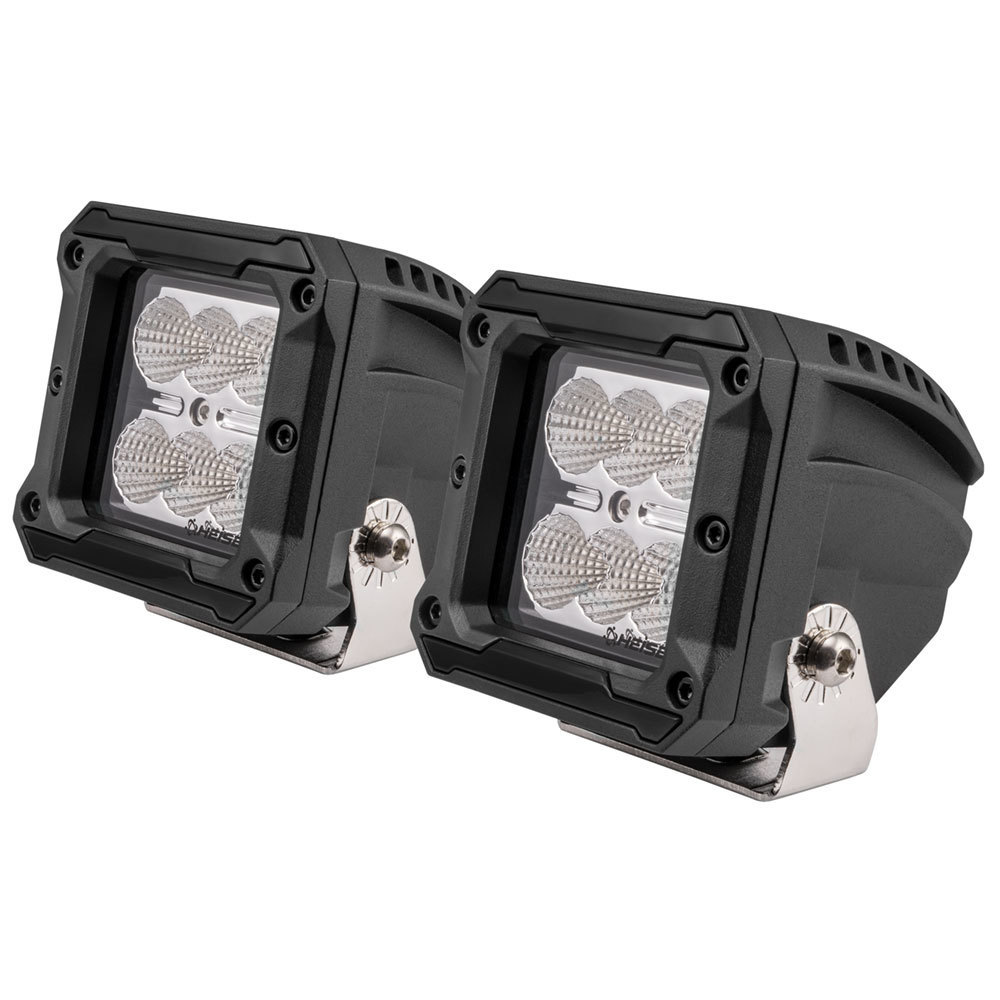 High Output Cube Flood Light - 3 Inch, 6 LED, 2-Pack