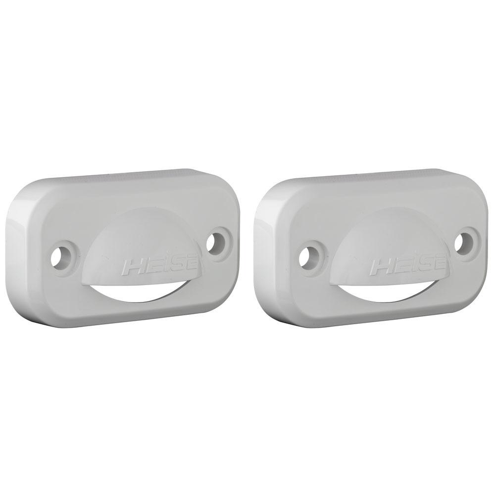 White Accent Lighting Cover/Diverter - Pair