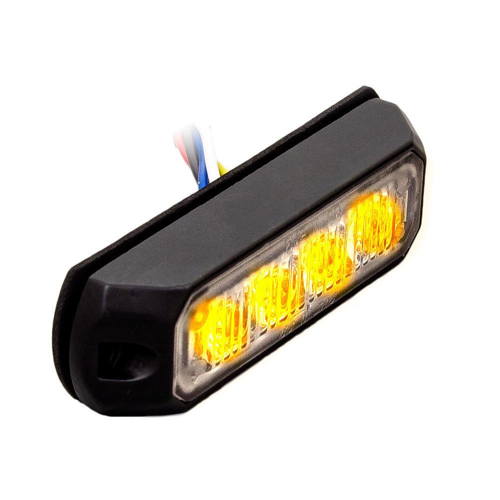 Amber Marker Lights - 4.9 Inch, 6 LED