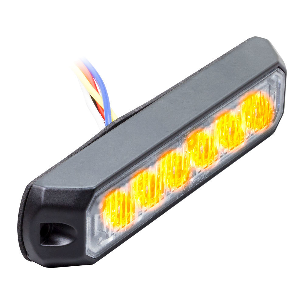 Amber Marker Lights - 4.9 Inch, 6 LED