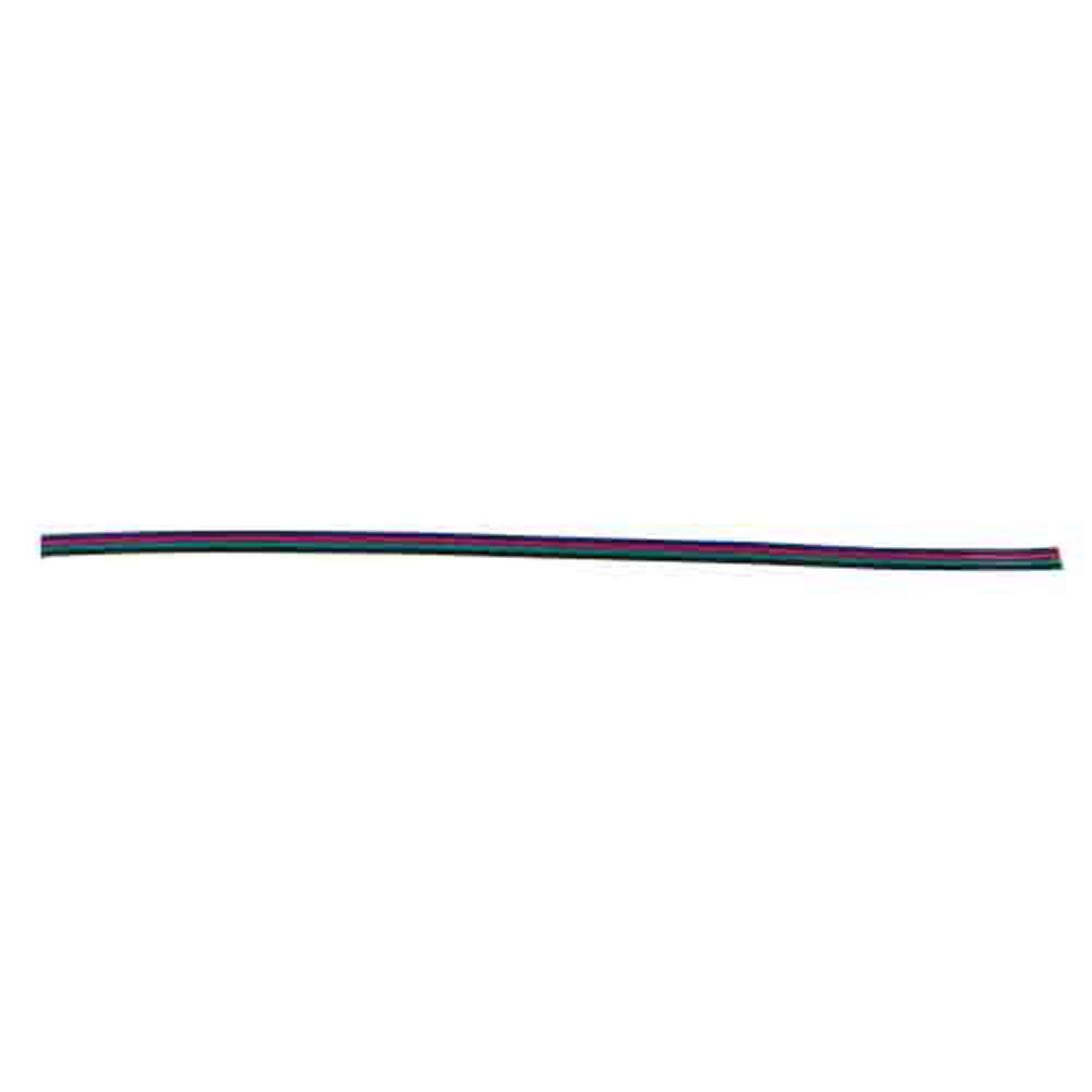4 Conductor RGB Wire for HE-5MRGB-1 - 100 Ft