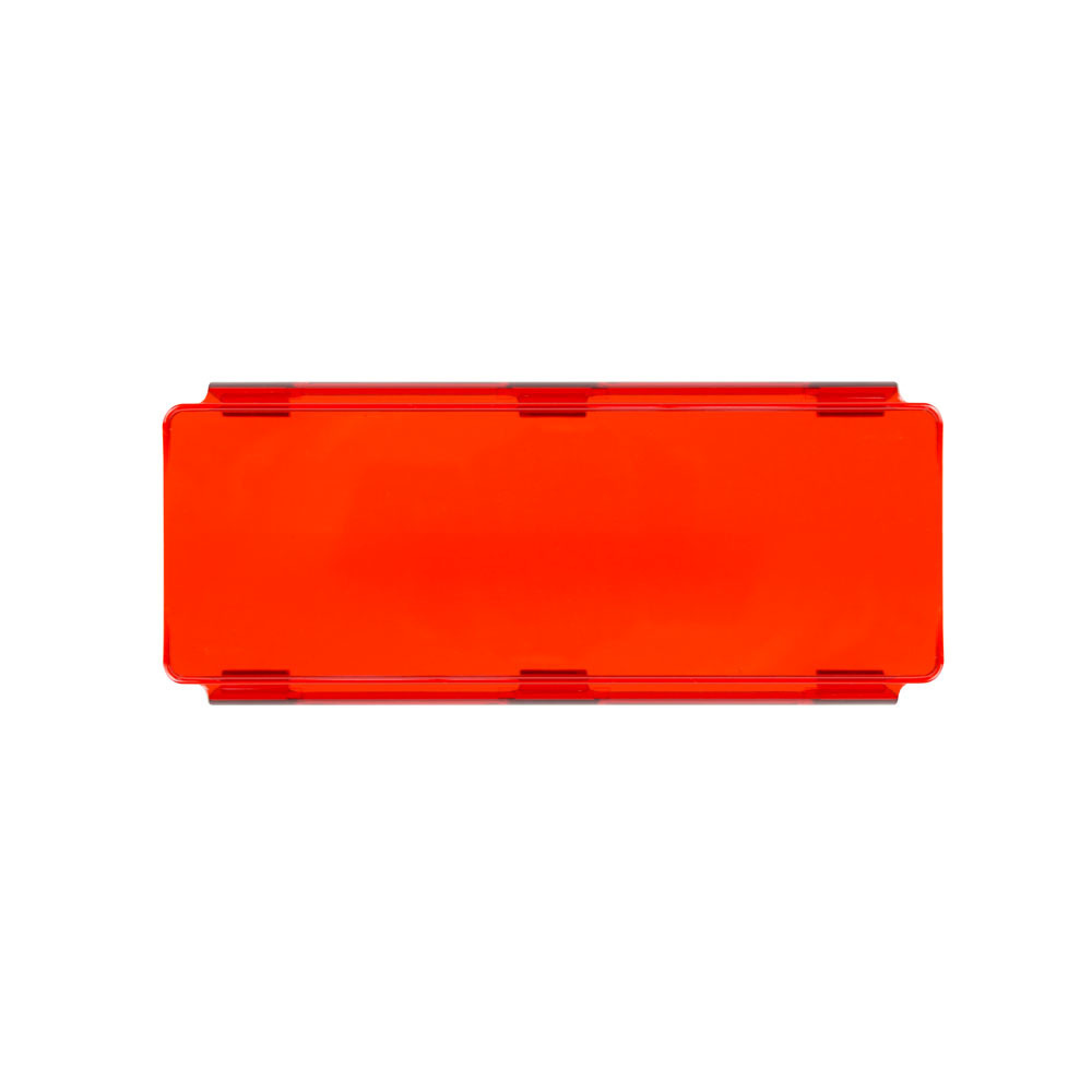 Red Protective Lens Cover for Straight LightBars - 8 Inch