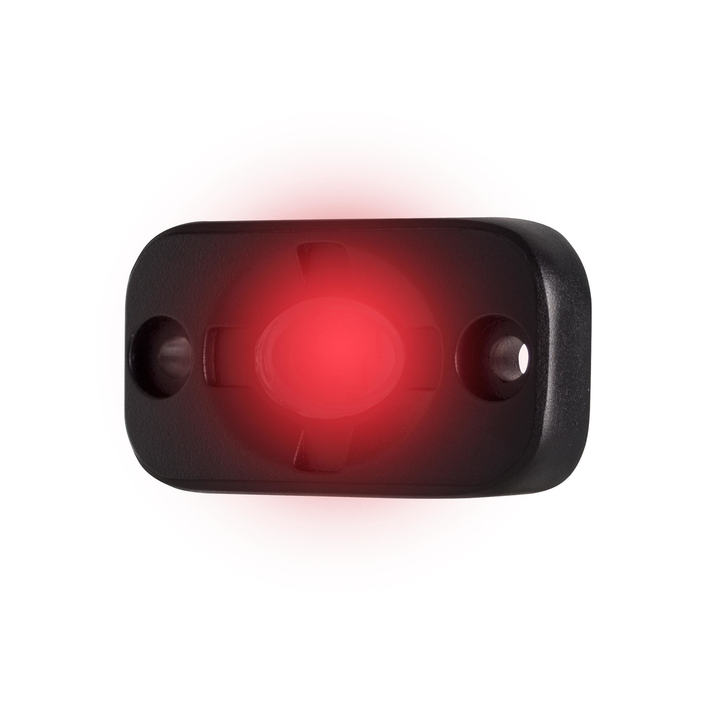 Red Auxiliary Lighting Pod - 1.5x3 Inch, 3 LED