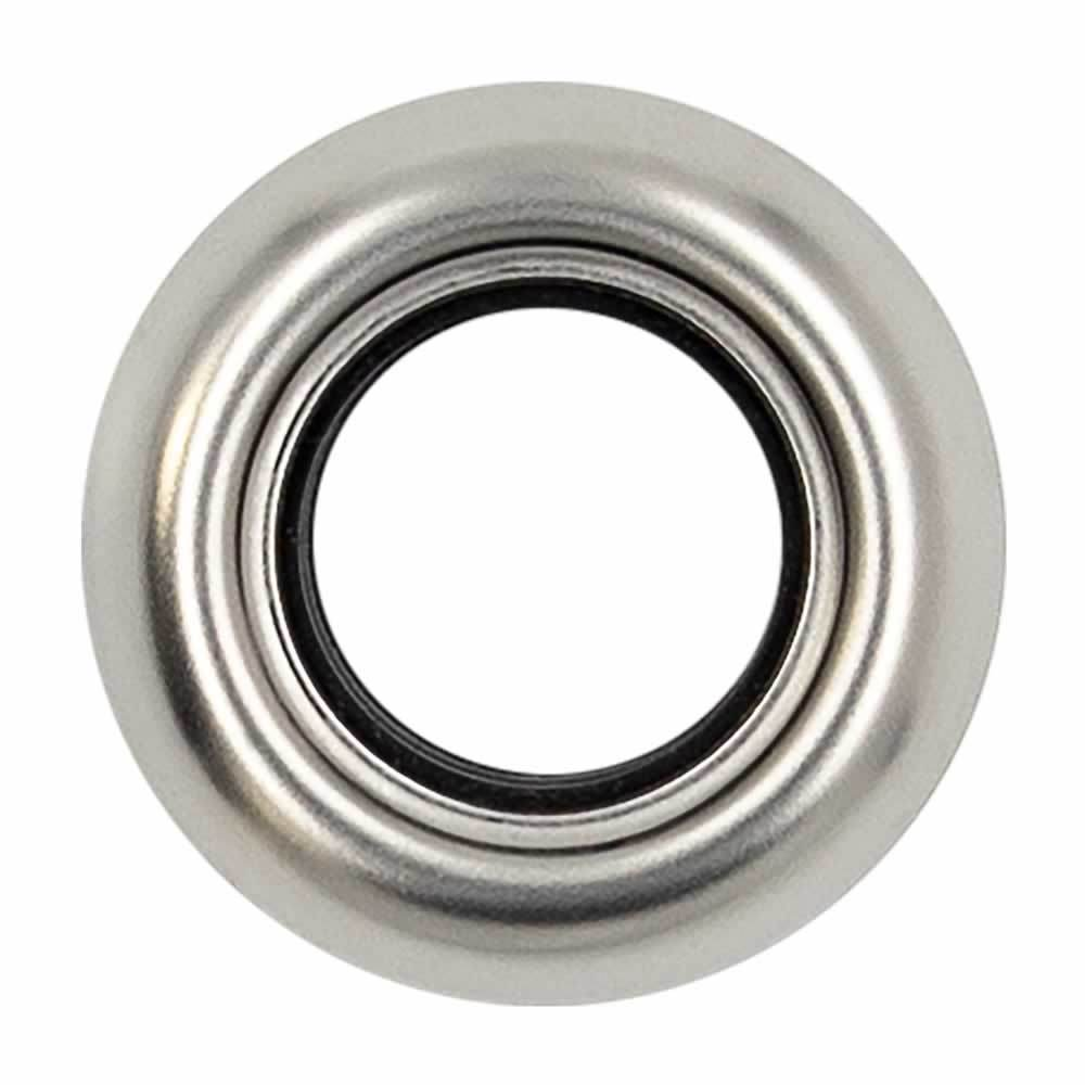 Stainless Flange for Round Trailer Lights - .75 Inch