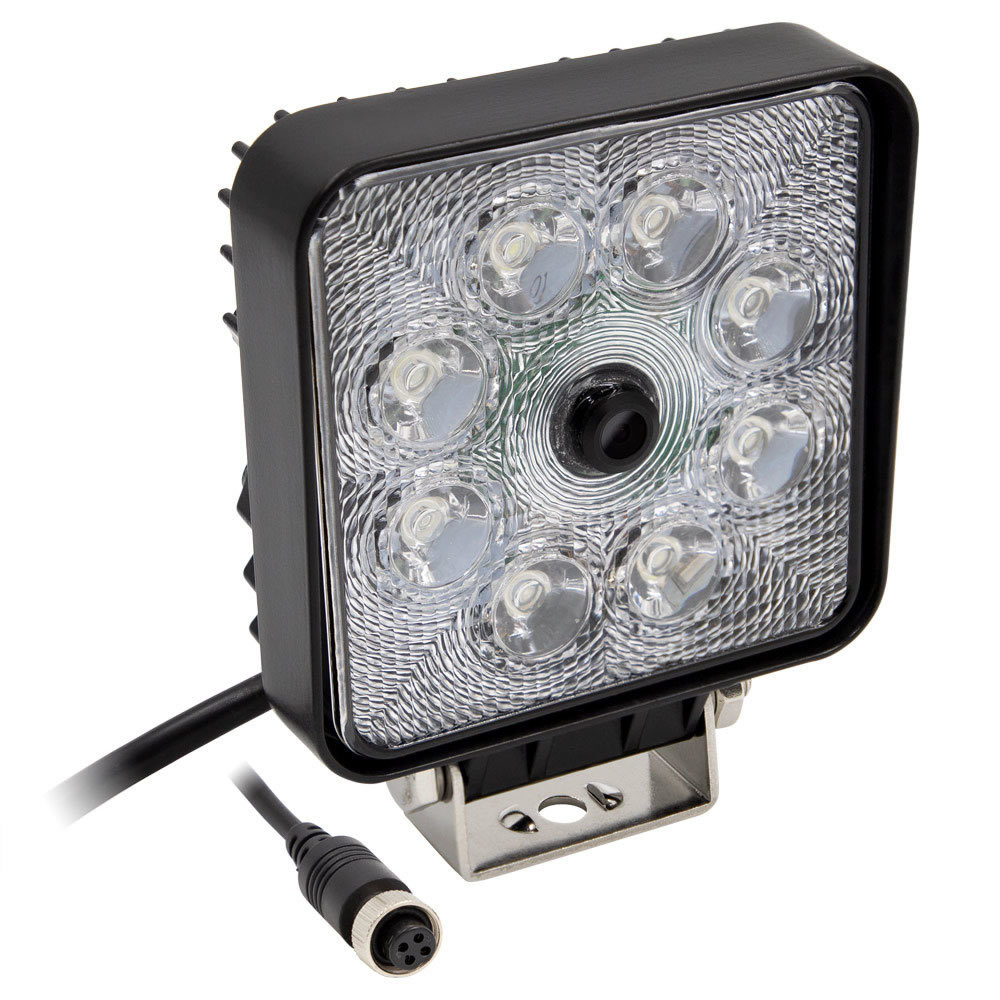 Work Light with Camera - 4.4 Inch, 8 LED