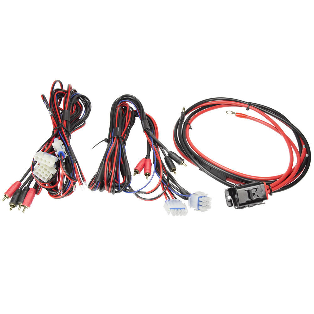 Motorcycle Amp Kit - 4 Channel