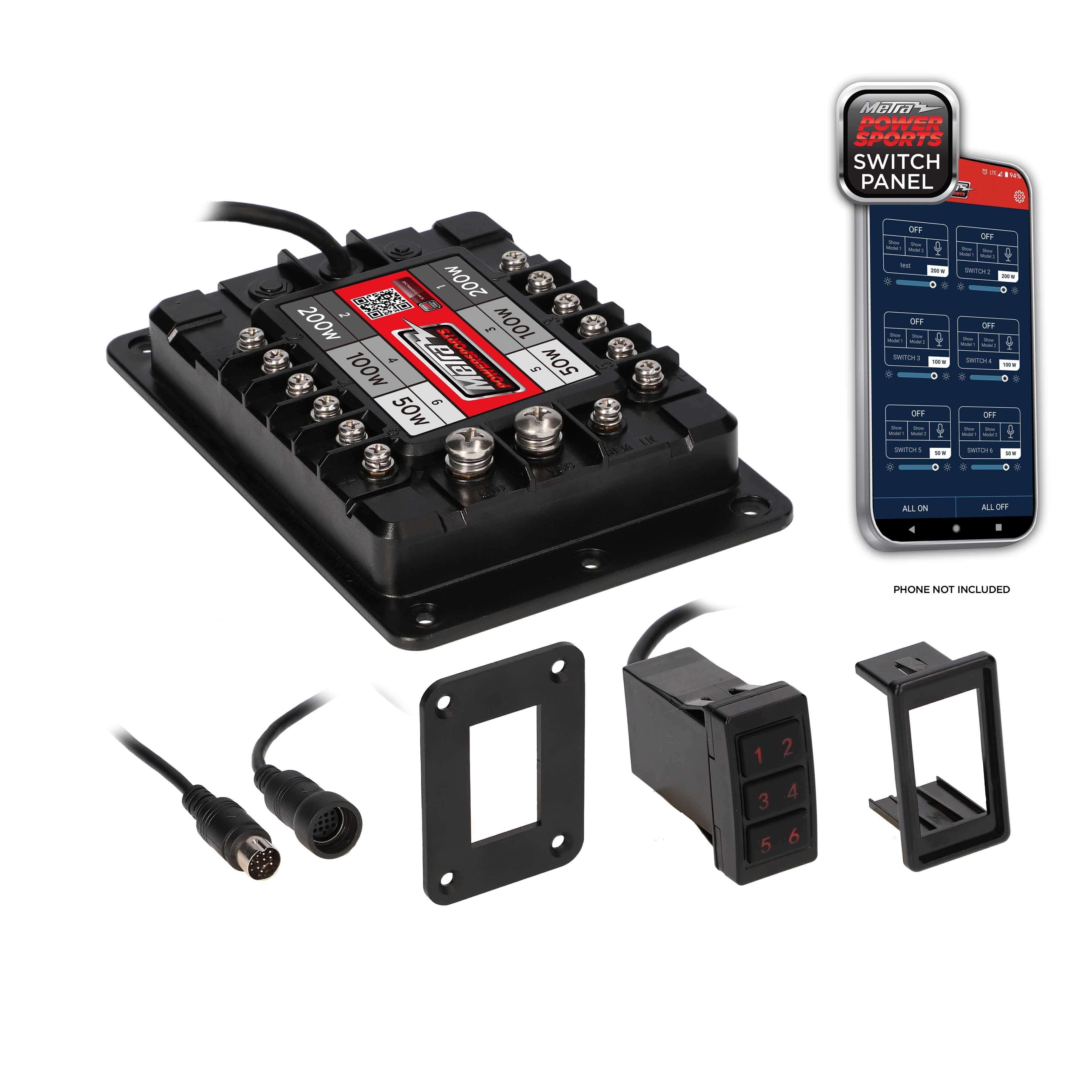 700 Watt 6 Zone Switch Panel
