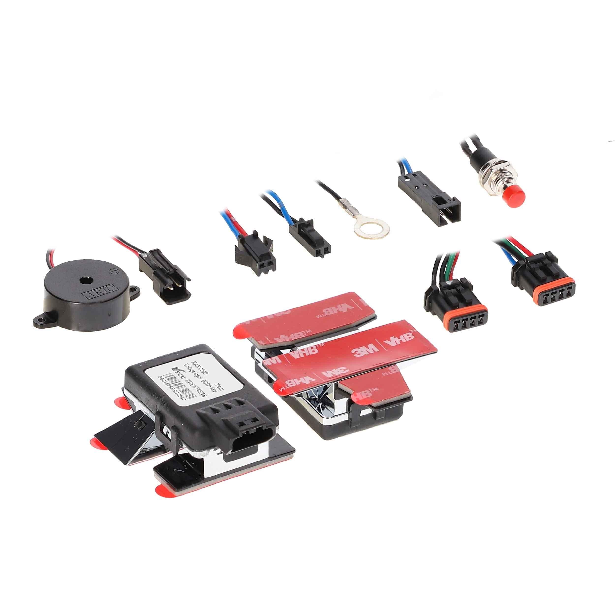 Universal Two Sensor No Drill Parking Sensor Kit