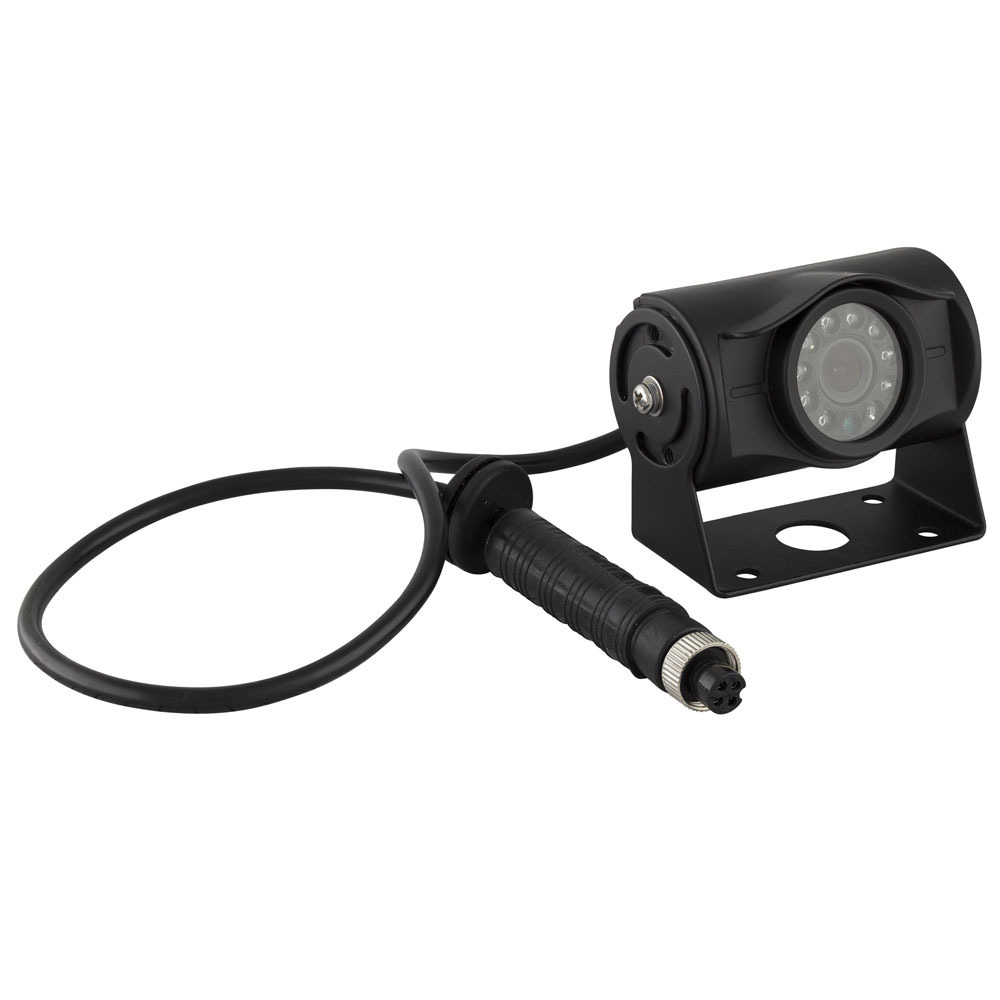 Heavy Duty Commercial Camera with Integrated Visor