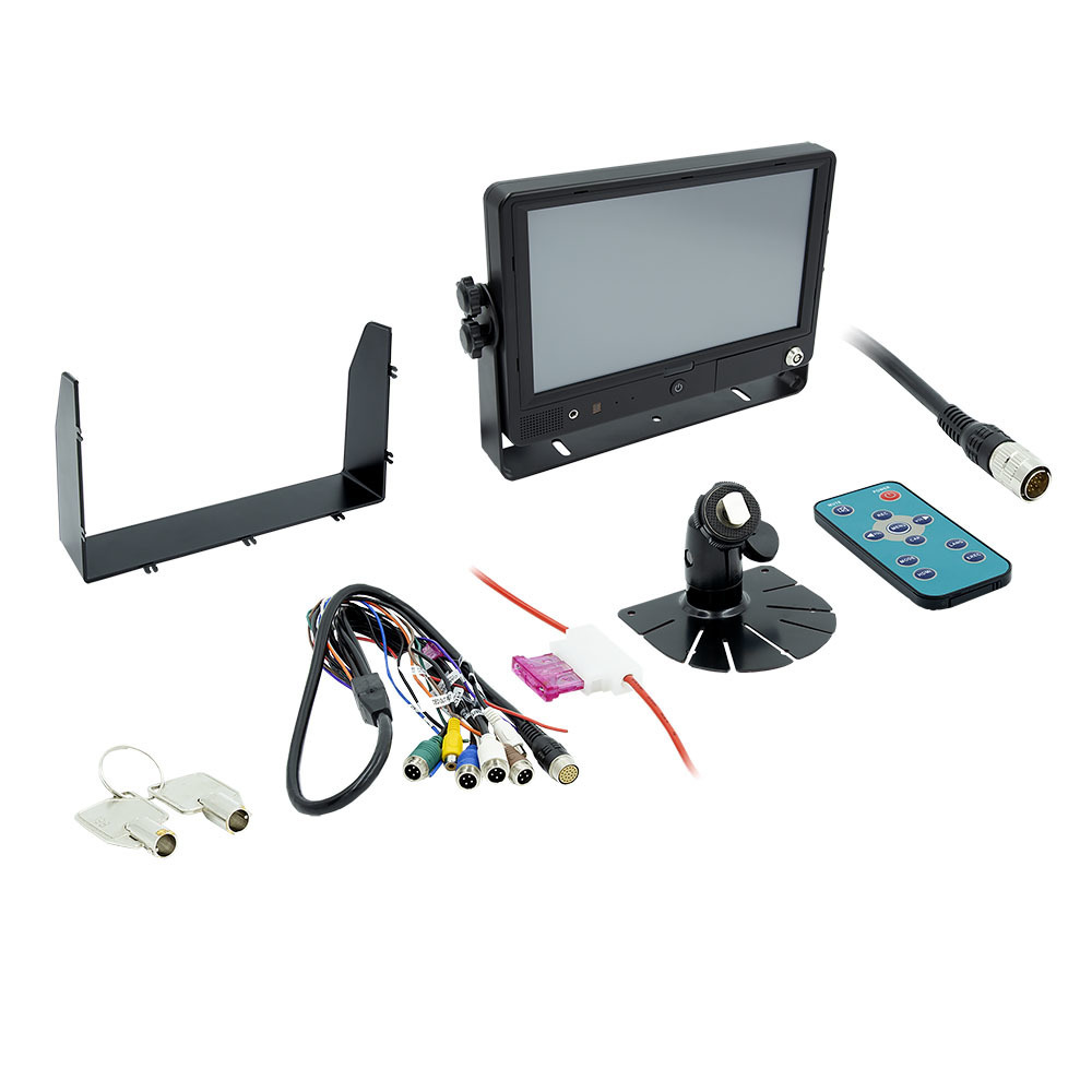 Quad Channel Touchscreen Monitor with DVR