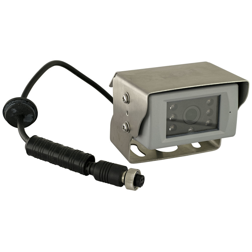 Stainless Steel Heavy Duty HD Camera with Microphone - Can ONLY be used with TE-4HCM-S