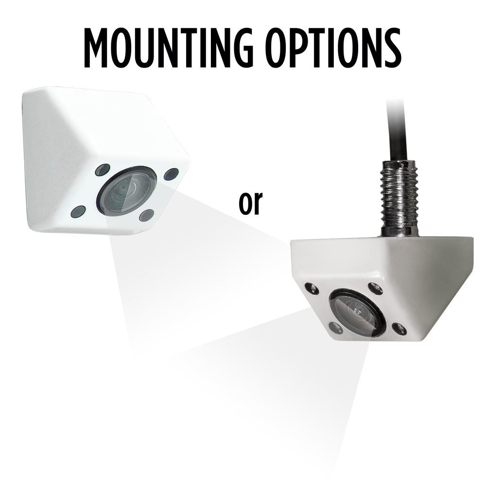 White IR Fixed Angle Micro Camera