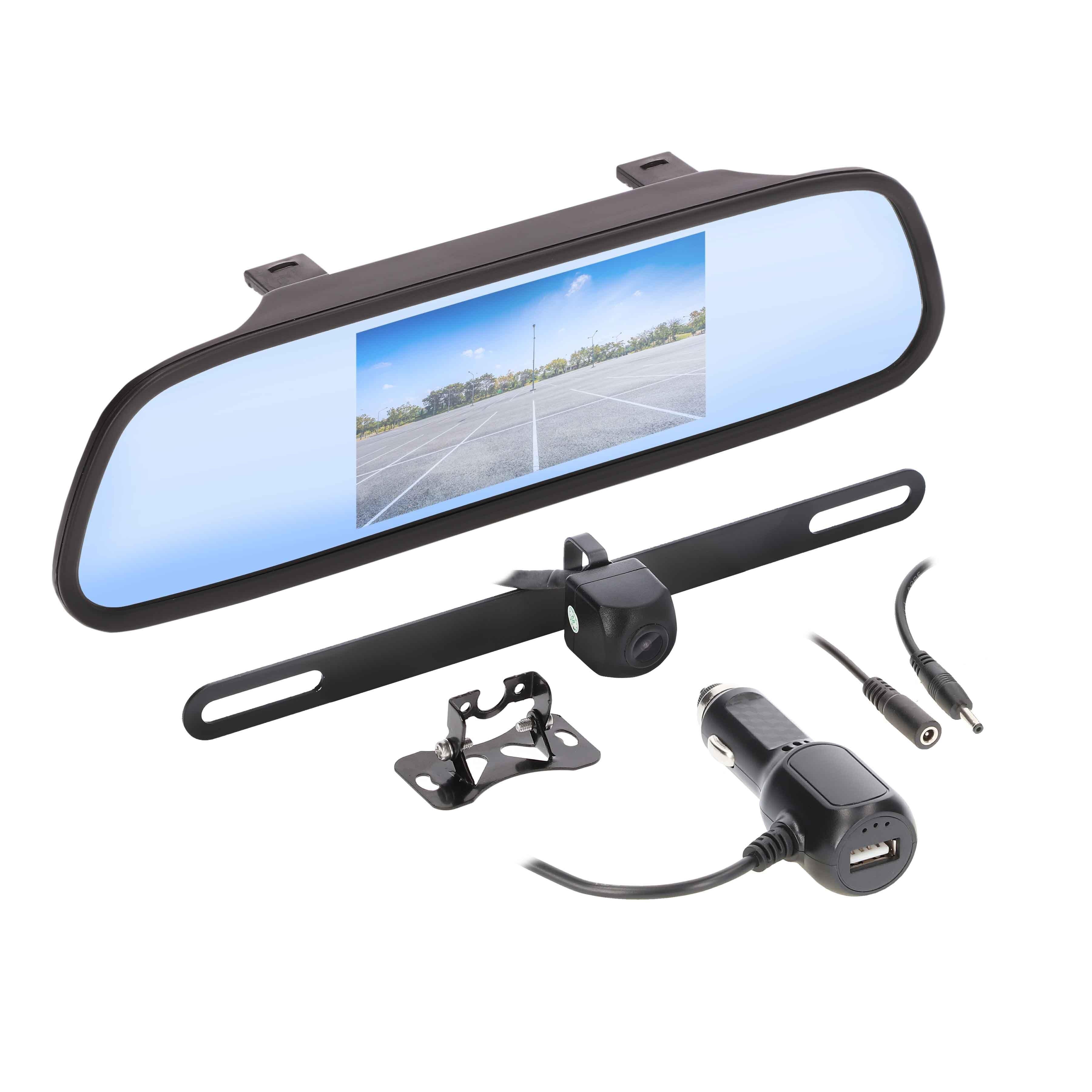 Wireless 4.3 Inch Mirror/Monitor and Camera