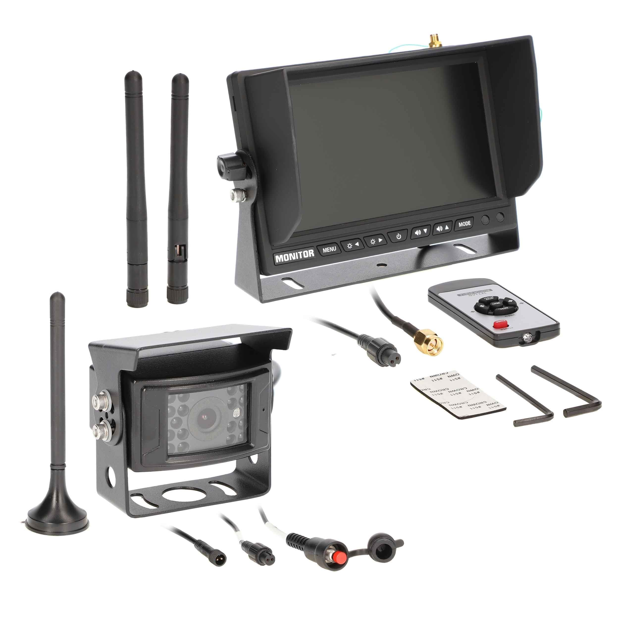 7 Inch Wireless Monitor with Wireless Camera