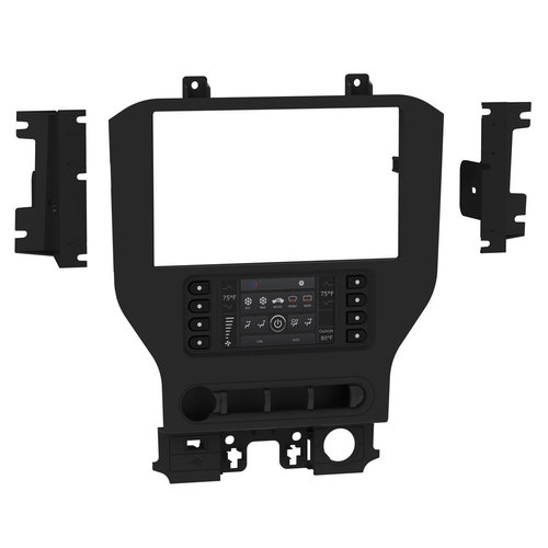 Ford Mustang 2015-Up (w/ 4.2in screen) - Pioneer 8-inch Radio TurboTouch Kit