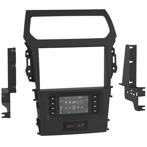 Ford Explorer (with 8-inch touchscreen) 2011-2015 TurboTouch Kit - Pioneer 8 Inch Radios