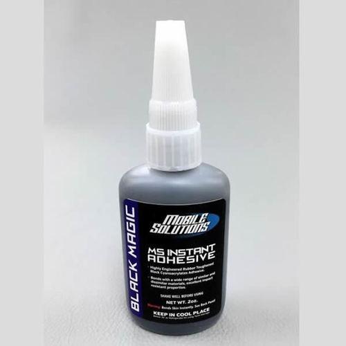 MS Instant Adhesive 2oz - Black Magic - Thick