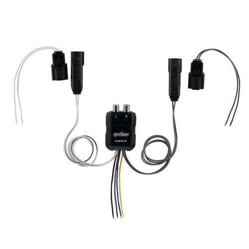 Mini 80 Watt 2 Channel Line Output Converter - Harley Davidson 2014-2018