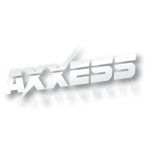 Axxess Silver Sticker