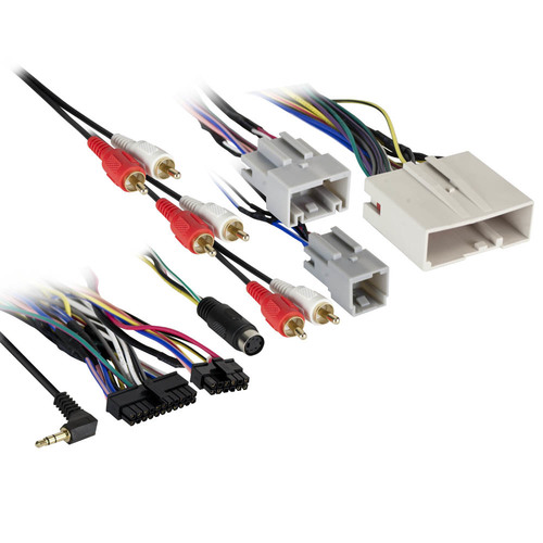 Ford 2007-Up Interface Harness (Used with AXADBX-1 or AXADBX-2)