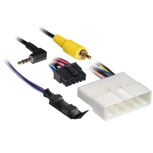 Nissan (with 4.3 Inch Display) 2010-Up Harness with 6V Converter