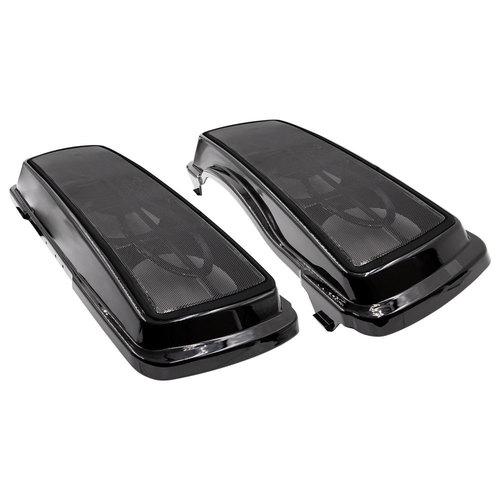 Saddlebag Lid Triple Speaker Adapter - Harley-Davidson 1994-2013