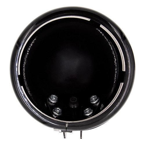 Gloss Black Headlight Housing Bucket Multi Fit - Harley Davidson 1984-2018