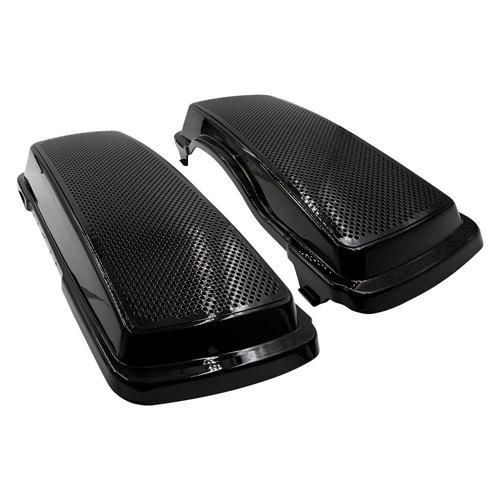 Saddlebag Lid Dual Speaker Adapter - 6x9 Inch Harley-Davidson 1994-2013