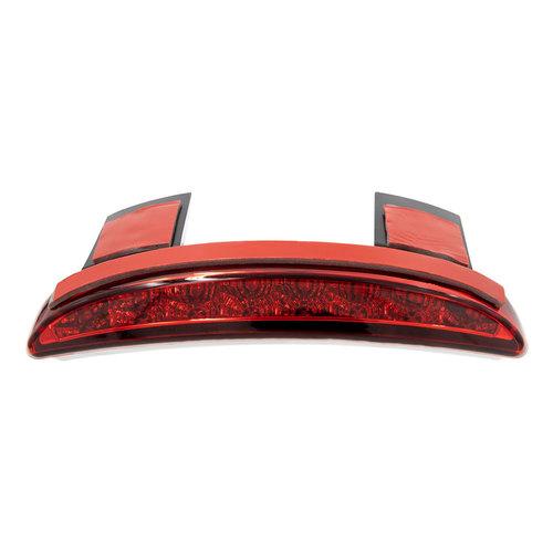 Red Chopped Fender Edge Light - Harley Davidson 2004-2013