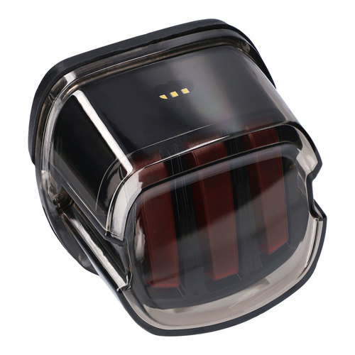 LED Replacement Taillights Smoke Lens Harley-Davidson 1999-Up