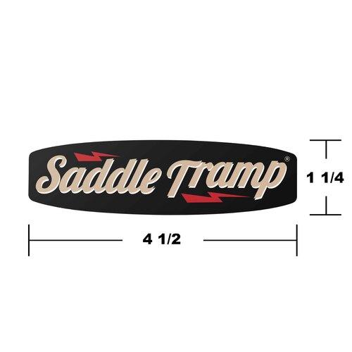 SaddleTramp Metal Logo