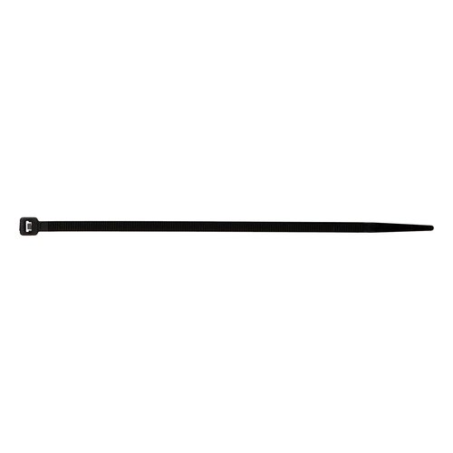 Black Cable Tie - 7 Inch, Package of 100