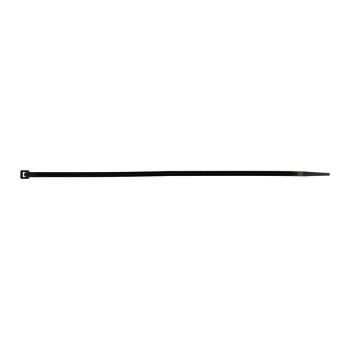 Black Cable Tie - 8 Inch, Package of 100