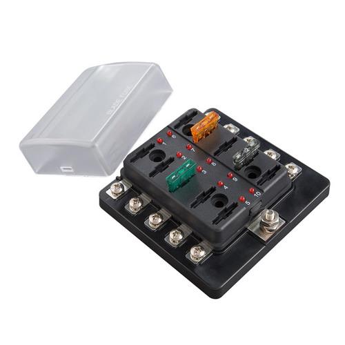 Fuse Block ATC With Indicating LEDs - Screw Terminals