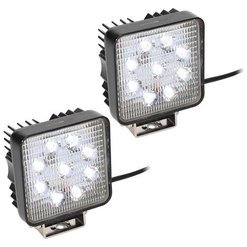 Square Driving Lights - 9 LED