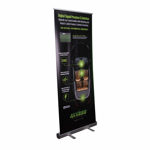 Axxess DSP Banner with Stand