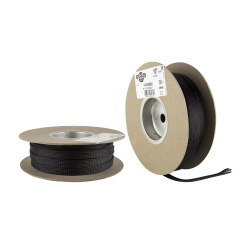 1 1/4in Expandanble Sleeving Black - 50ft